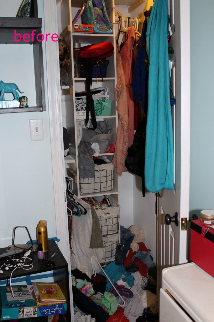 wardrobe closet - before 2