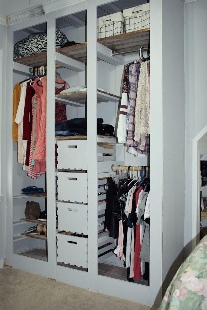 wardrobe closet -closet only