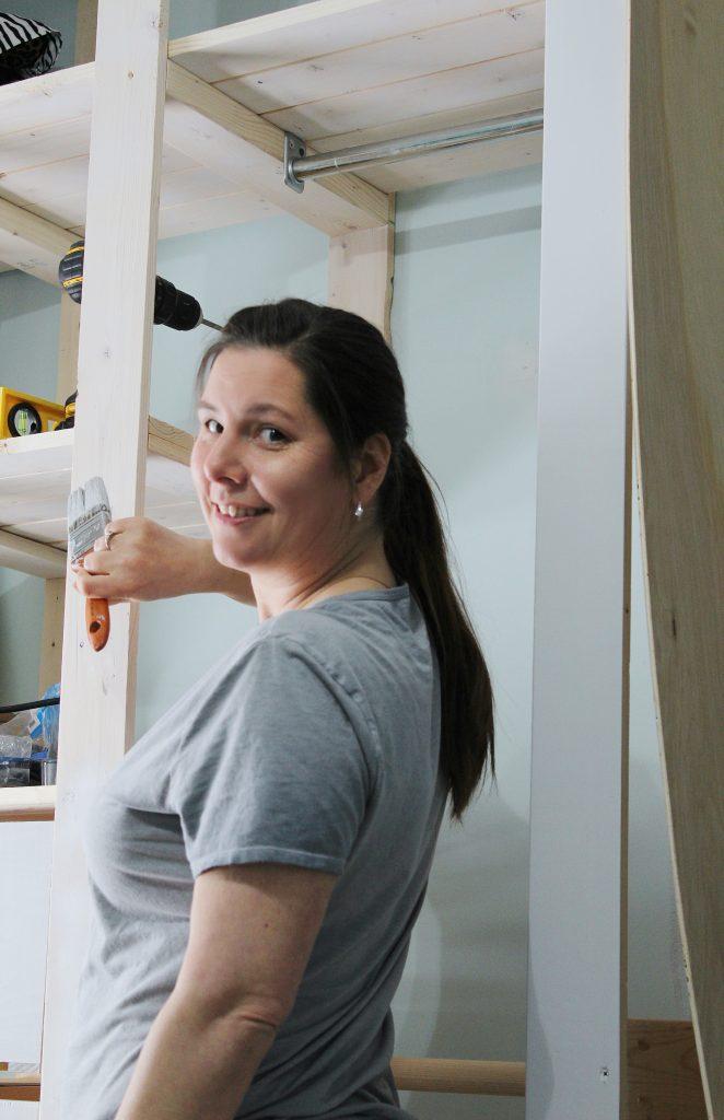 wardrobe closet - kim painting