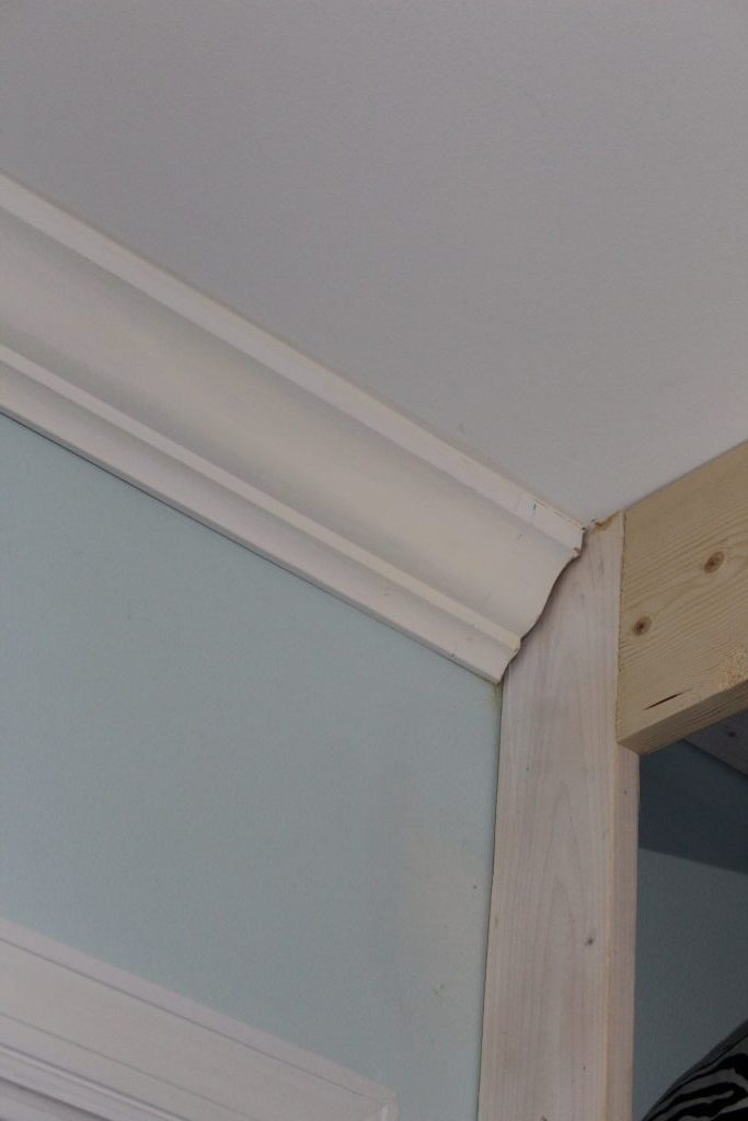 wardrobe closet - trim work