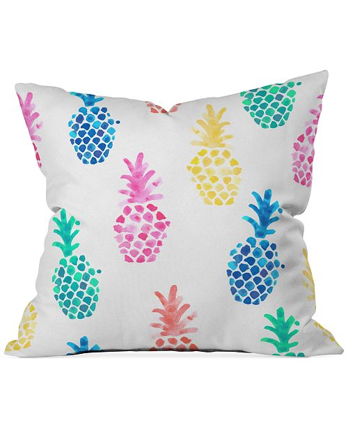 pineapple home decor - Dash and Ash Pineapple Paradise Pillow