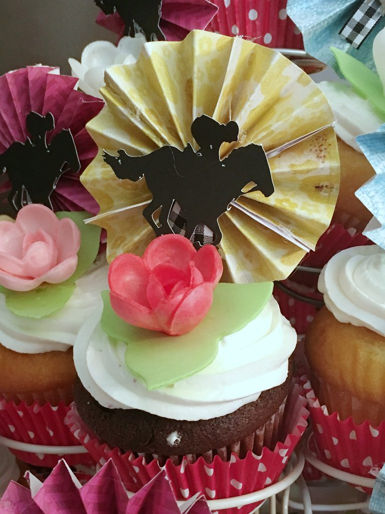 Kentucky Derby Party - cupcake