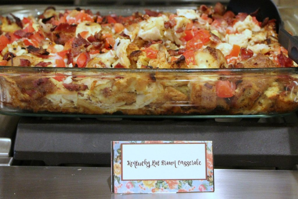 Kentucky Derby Party - hot brown casserole