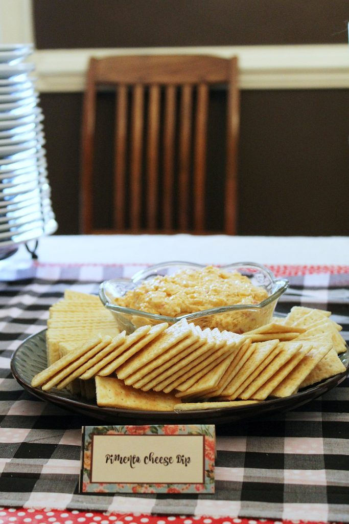 Kentucky Derby Party - pimento cheese