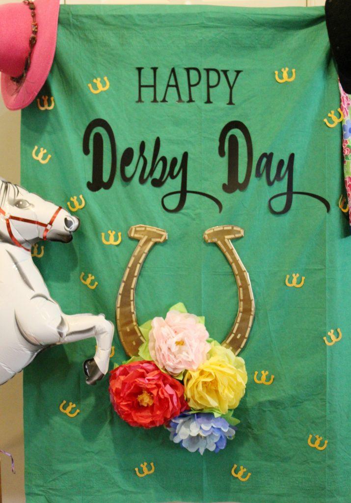 Kentucky Derby Party - prop backdrop