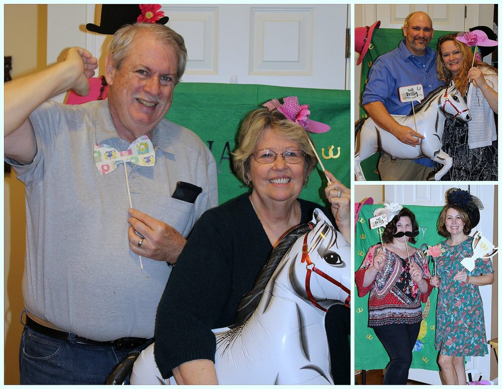 Kentucky Derby Party - props in action 2