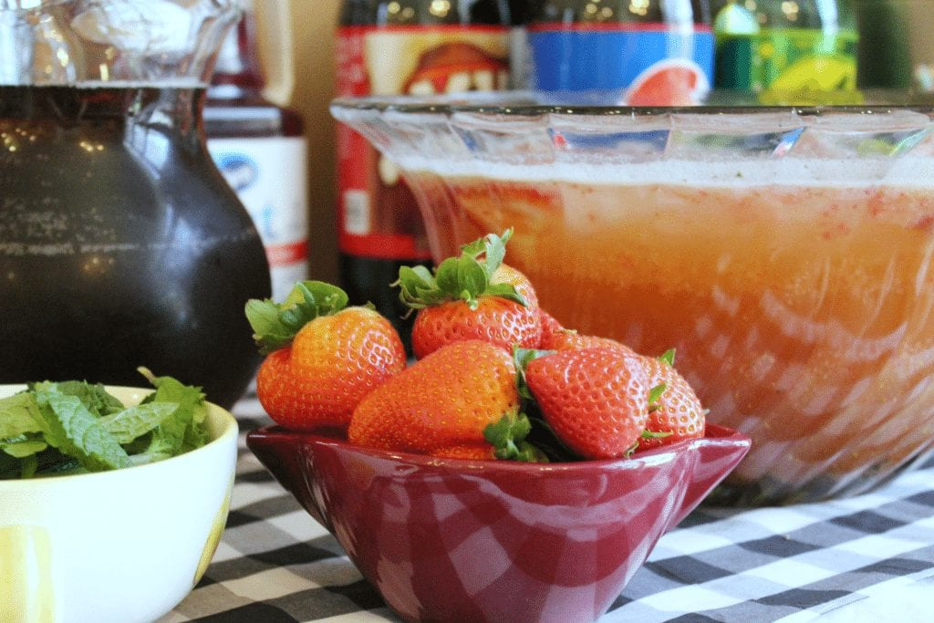 Kentucky Derby Party - punch