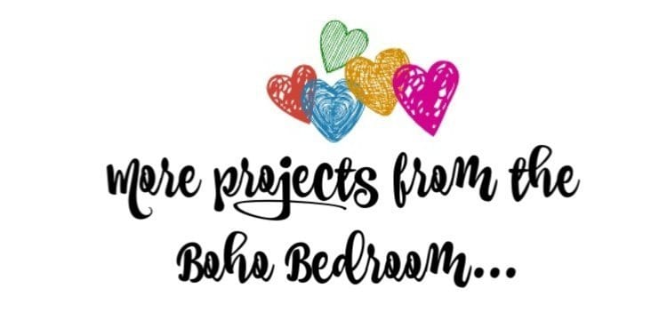 More Projects - Boho Bedroom