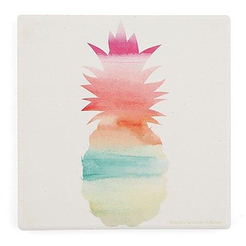 pineapple home decor - Pineapple Coasters