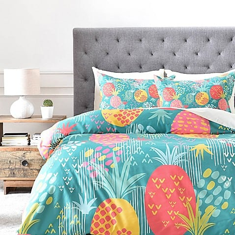 pineapple home decor - Pineapple Duvet
