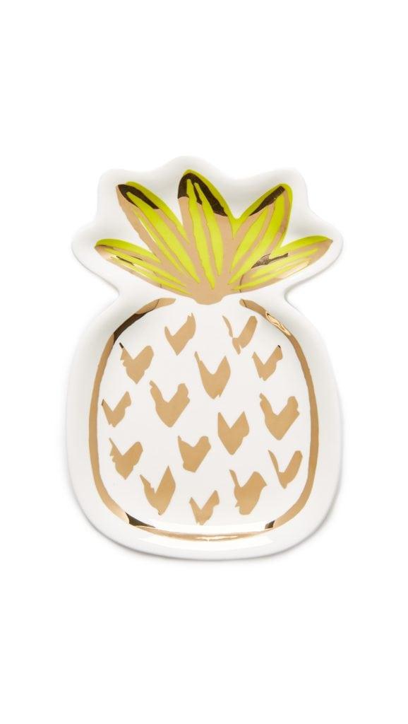 pineapple home decor - Pineapple Trinket Tray