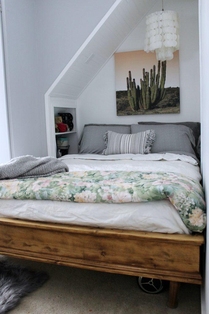 boho bedroom - bed