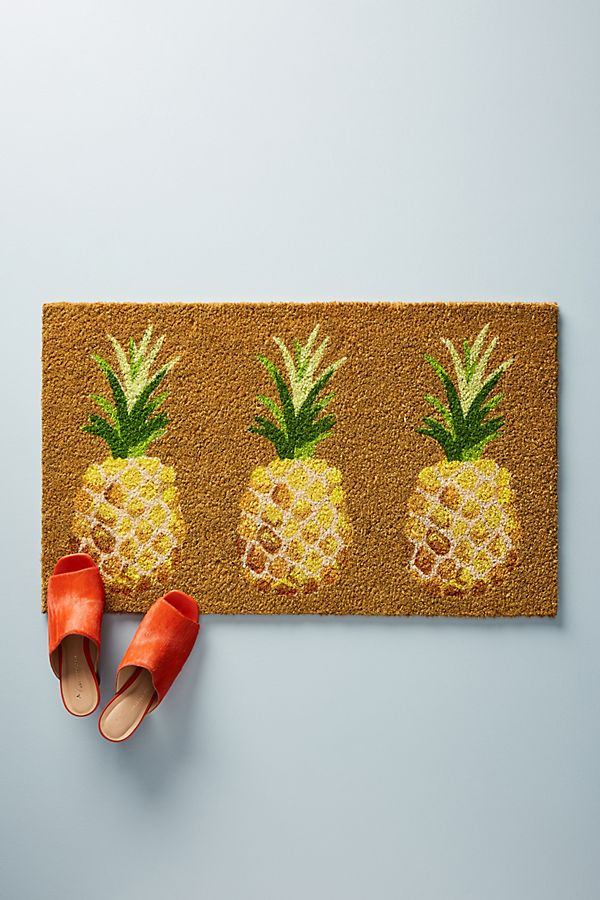 pineapple home decor - Pineapple Doormat
