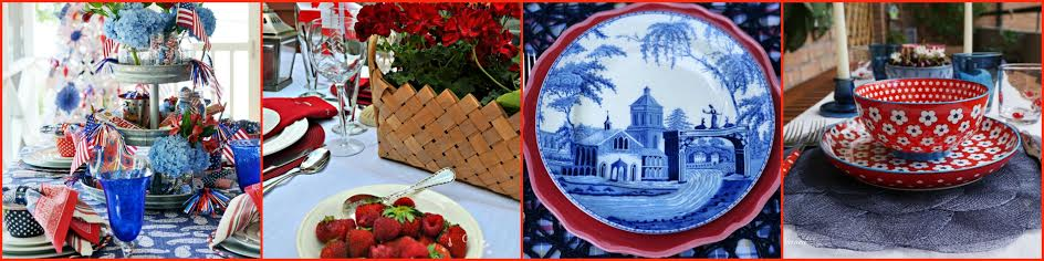 patriotic tablescape-day 1 collage