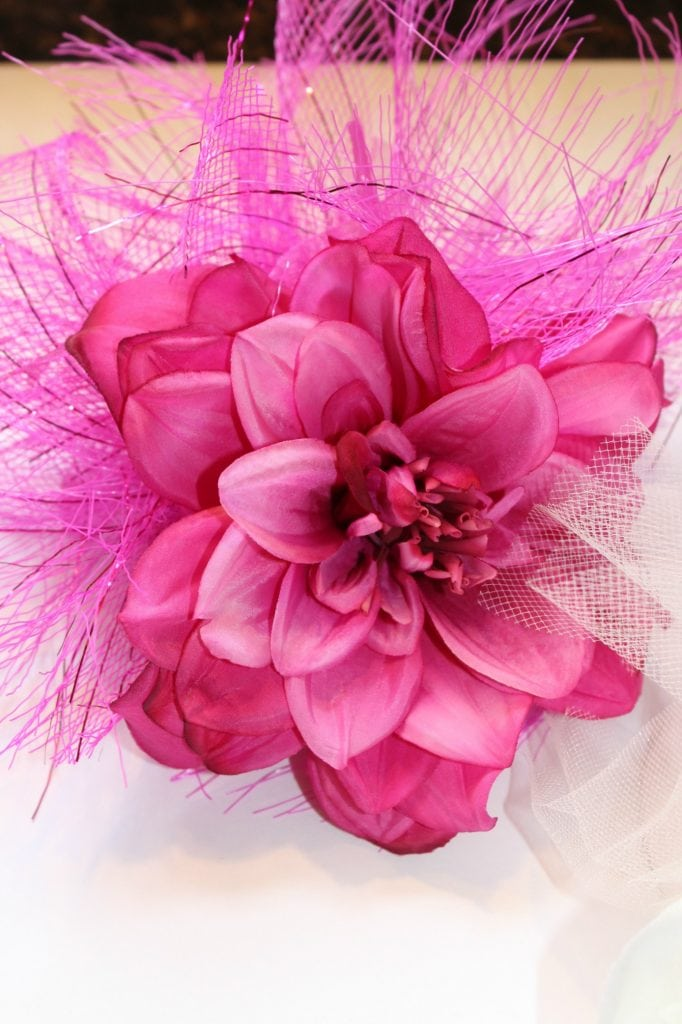 how to make a fascinator _completed