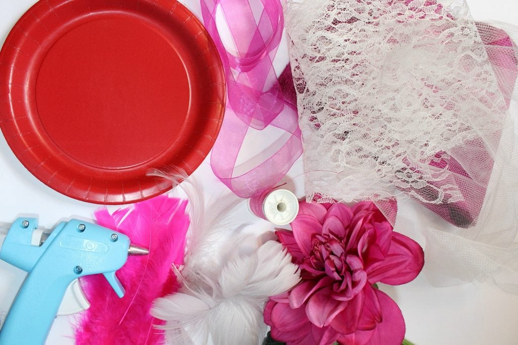 how to make a fascinator - materials
