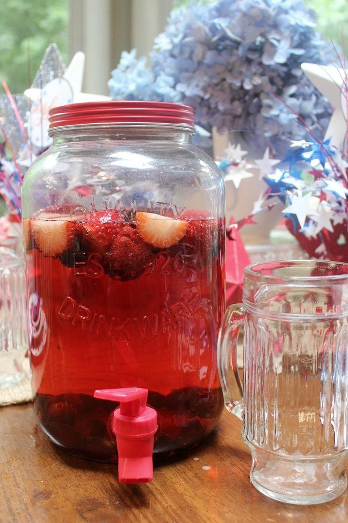 red white and blue - drinks