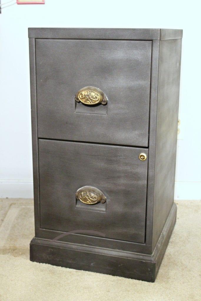 file cabinet desk base