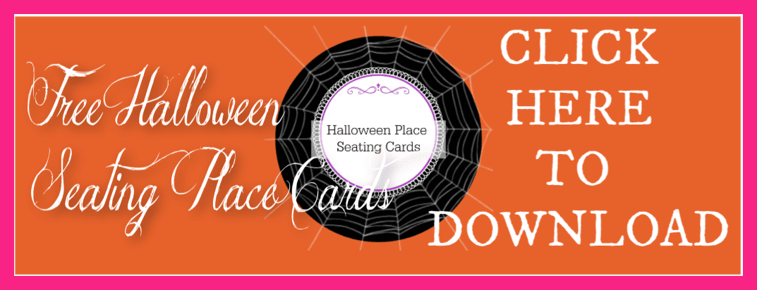 Halloween Place Cards - 2