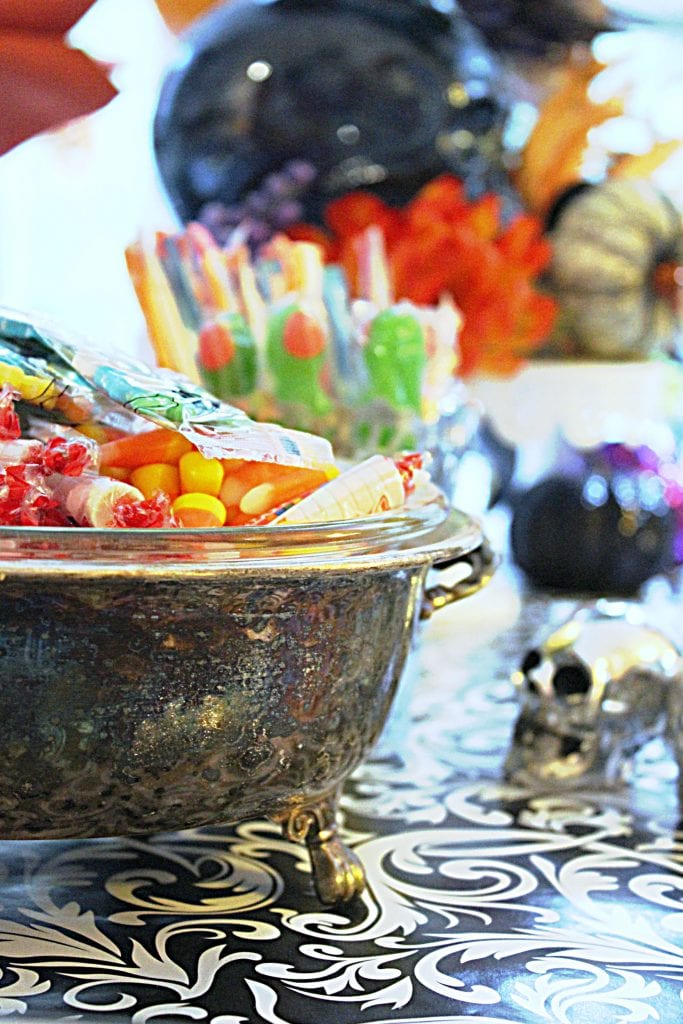 cheap halloween table decorations