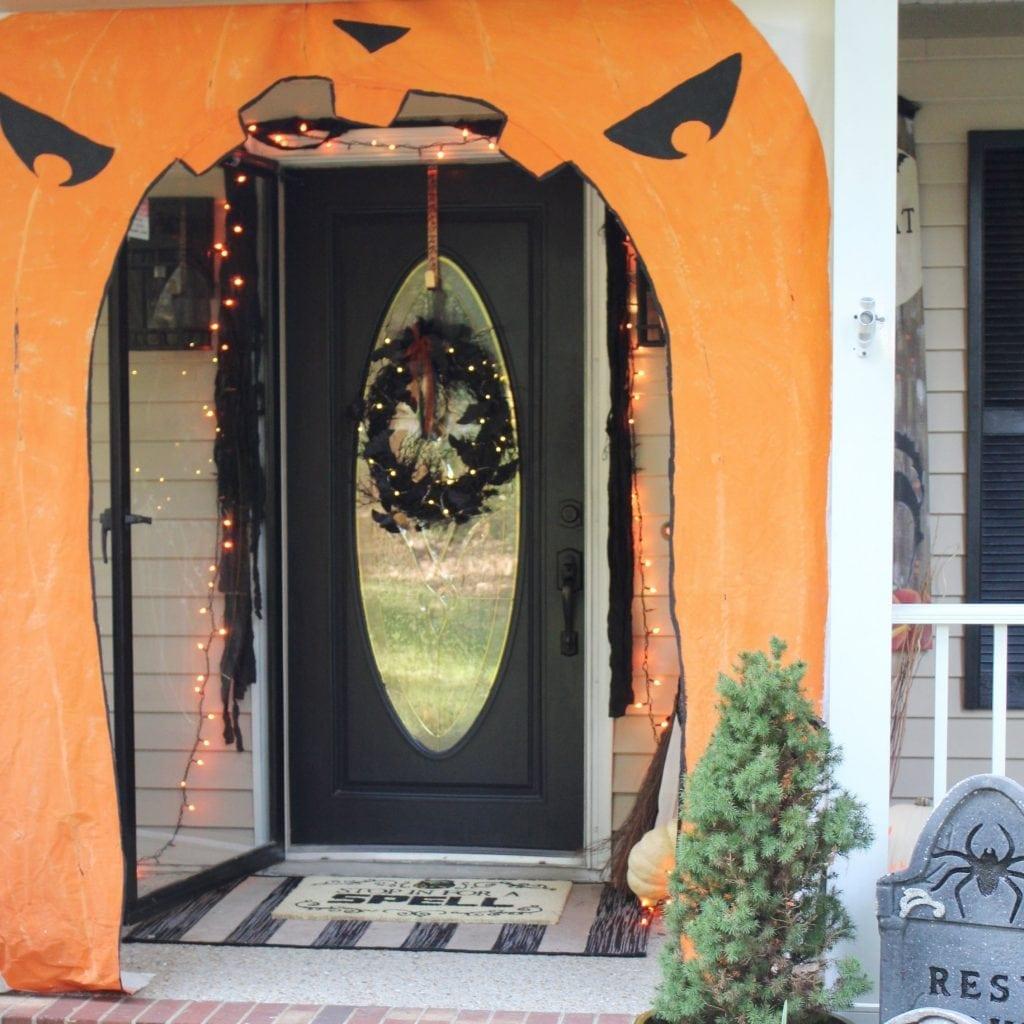feature_halloween front door decor