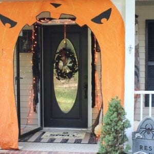feature_halloween front door decor