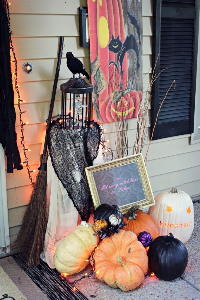 halloween front door decoration ideas