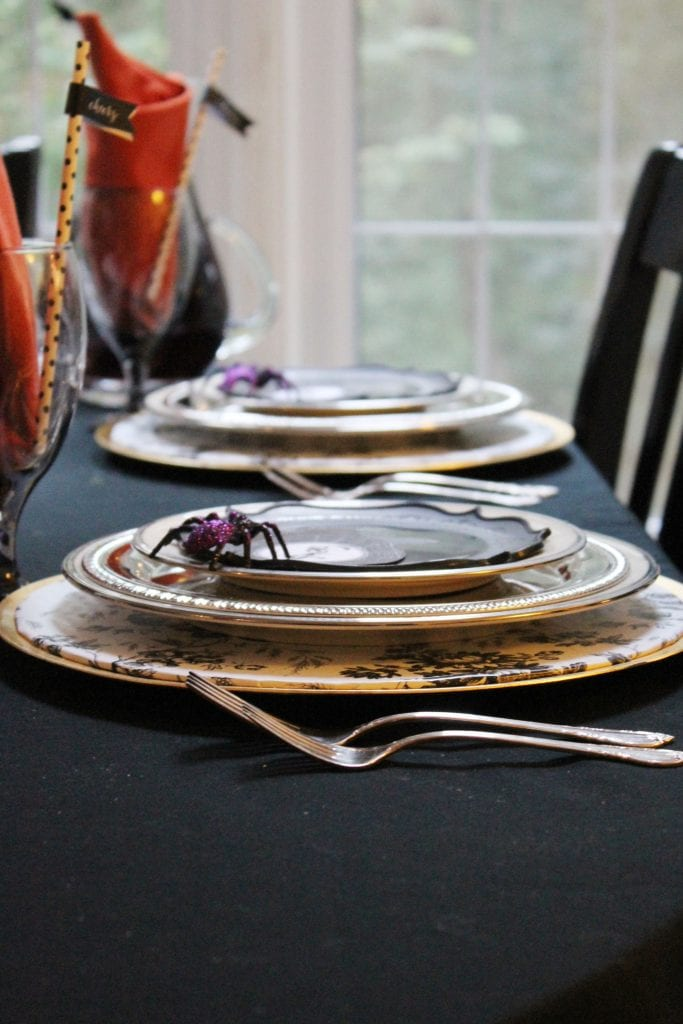 halloween party table centerpieces