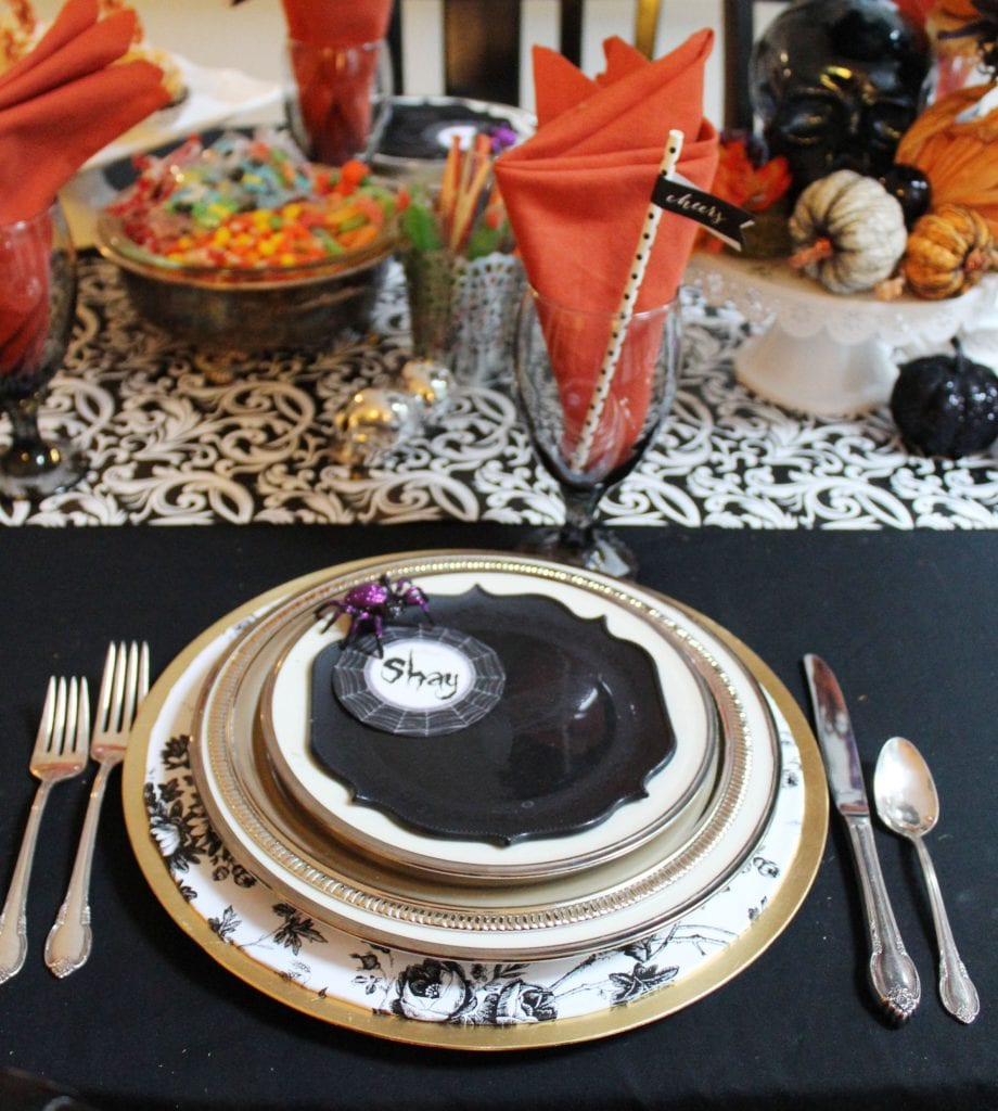 halloween table decorations to make