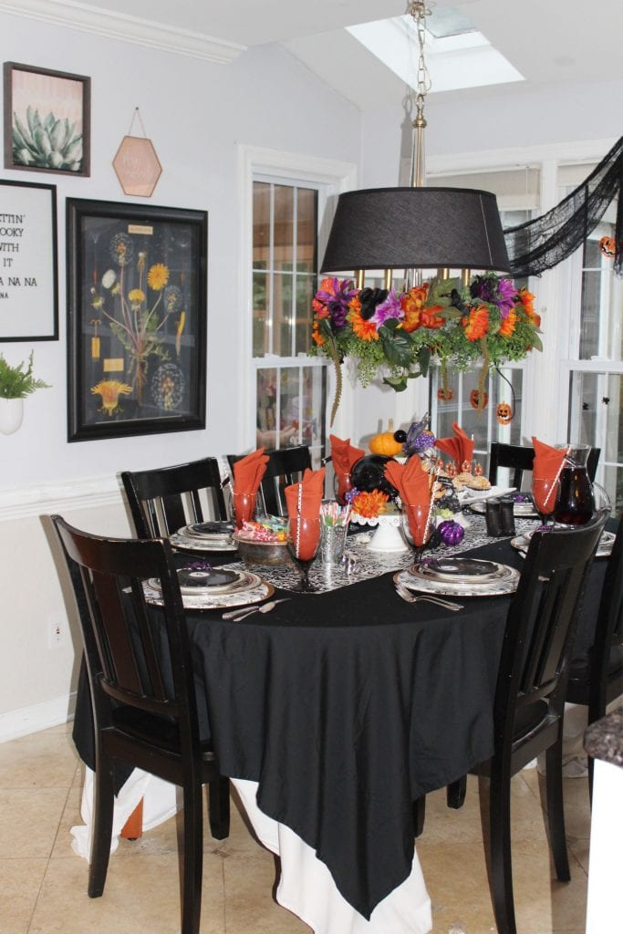 pinterest halloween table decorations