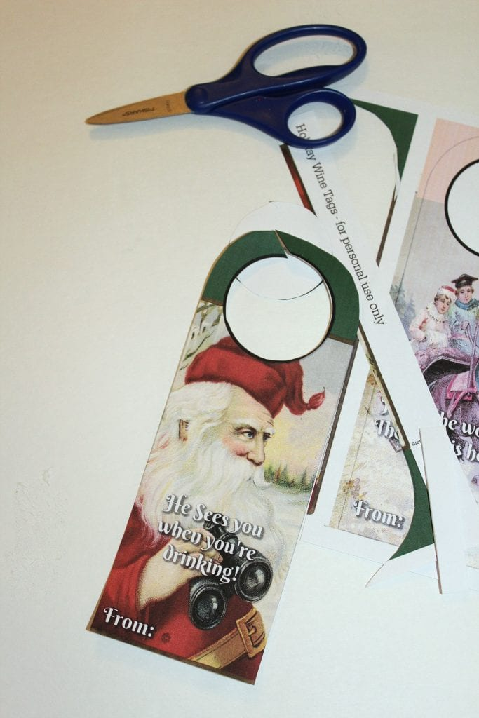 Christmas Hostess Gifts - Cut out
