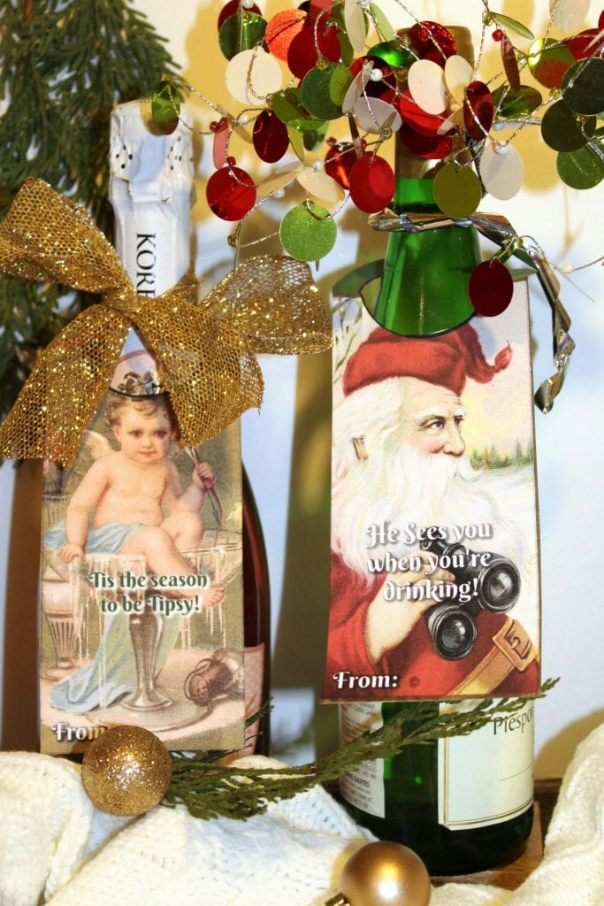 Christmas Hostess Gifts - He sees you and tis the season
