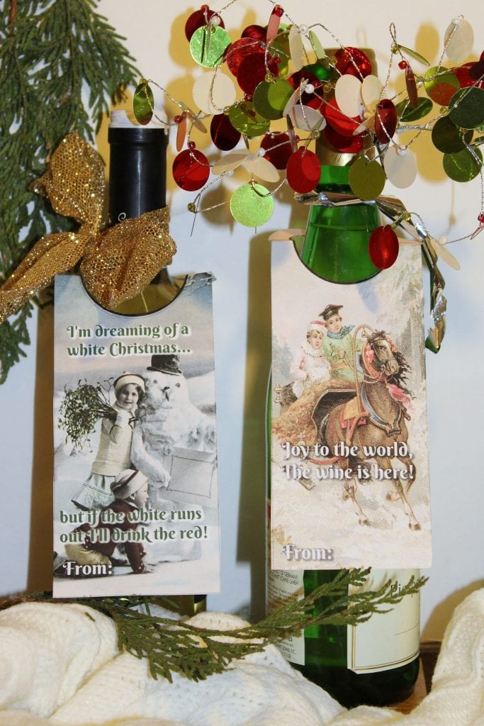 Christmas Hostess Gifts - joy to the world and i'm dreaming