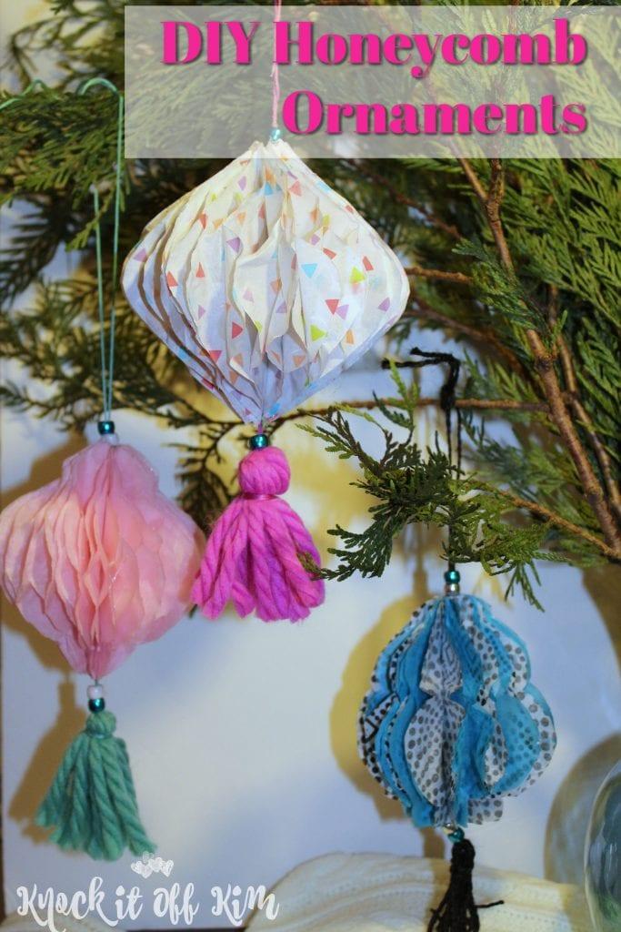 DIY Christmas Ornament - Set of three