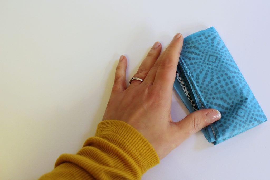 DIY Christmas Ornaments - Fold Tissue Paper
