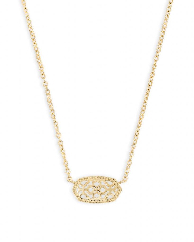 my favorite things - elisa filagree pendant