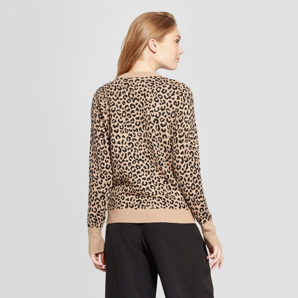 my favorite things - leopard print sweater