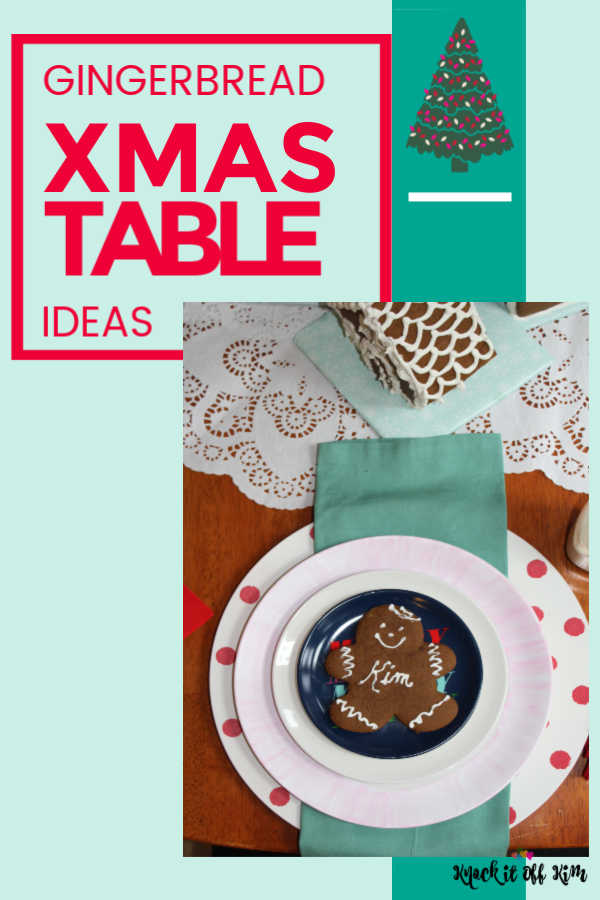 Christmas Table Gingerbread Pin