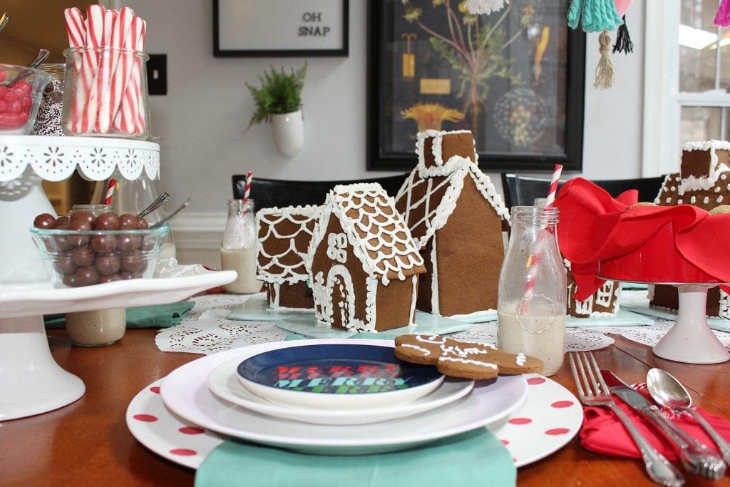 christmas table - christmas decor ideas