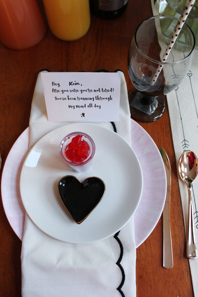 Happy Galentines Day Table