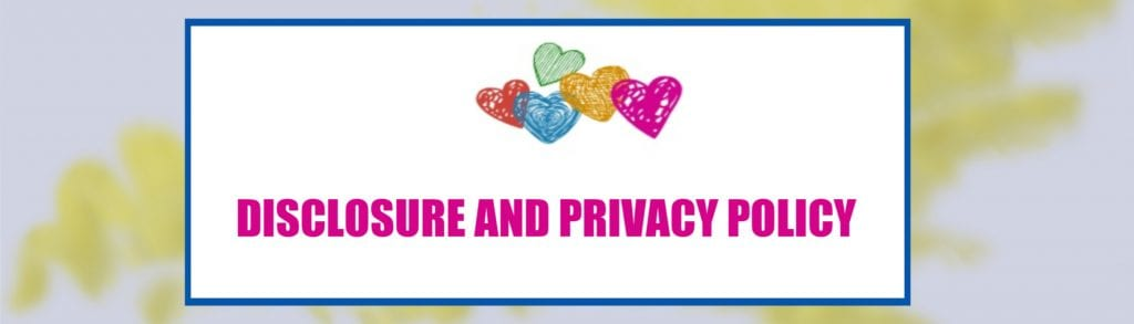 DISCLOSURE AND PRIVACY PLICY
