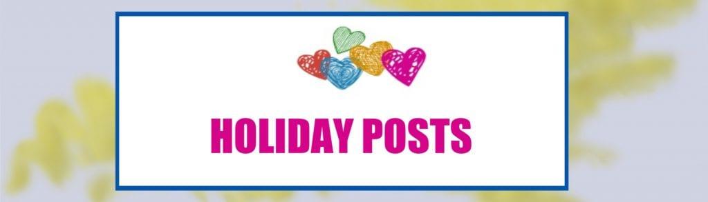 holiday posts