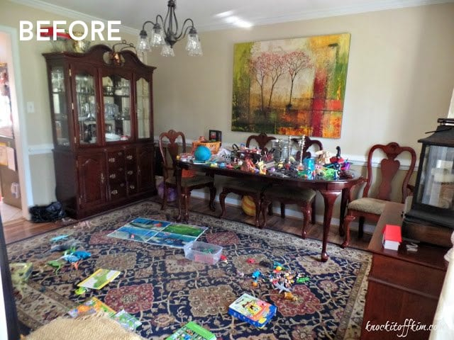 Multipurpose Dining Room - With Toys