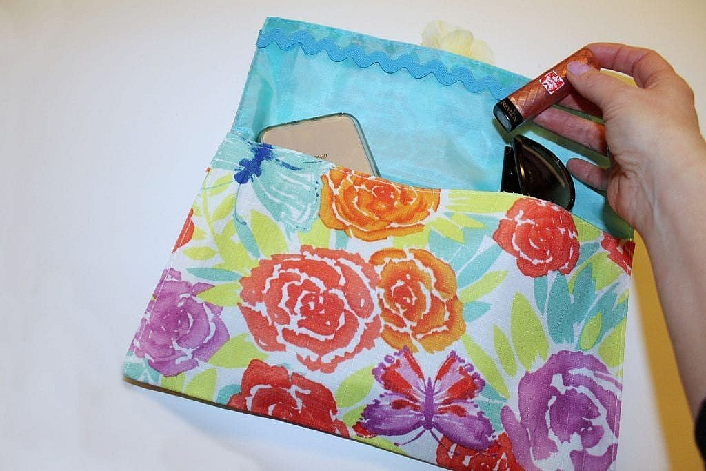 diy clutch purse no sew