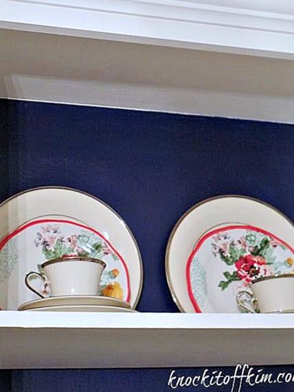 multipurpose dining room - builtins china