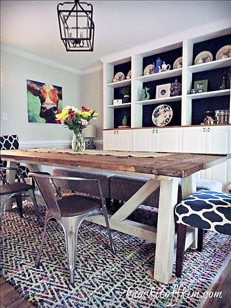 multipurpose dining room - dining table 5