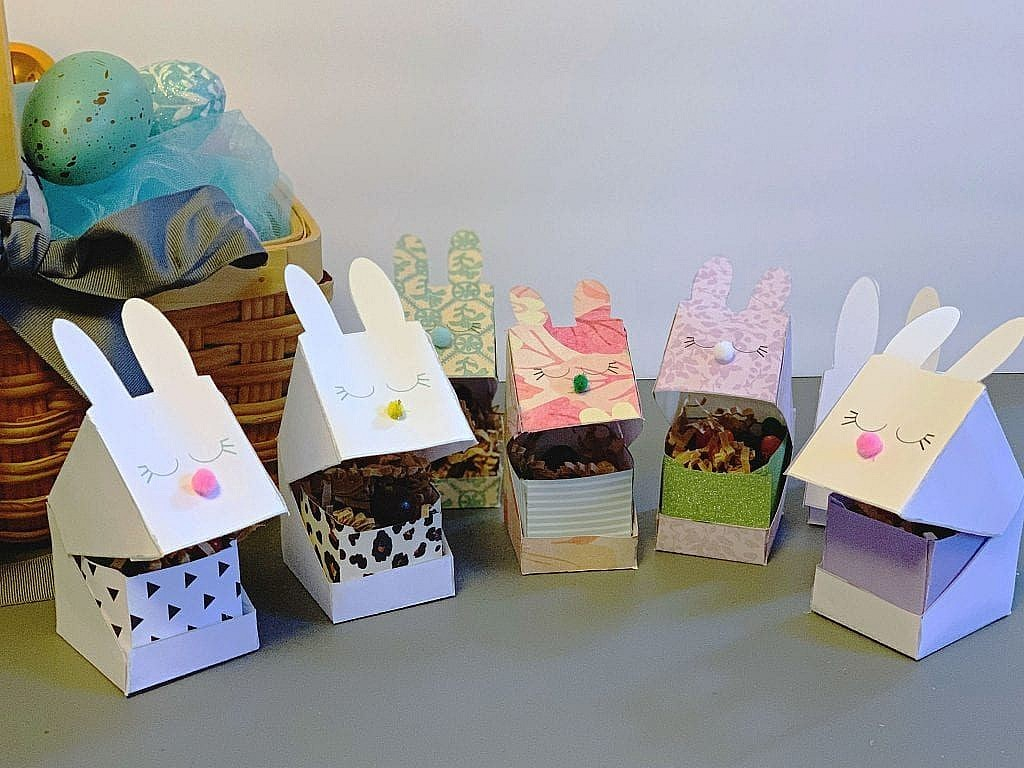 Easter Bunny Box Printable