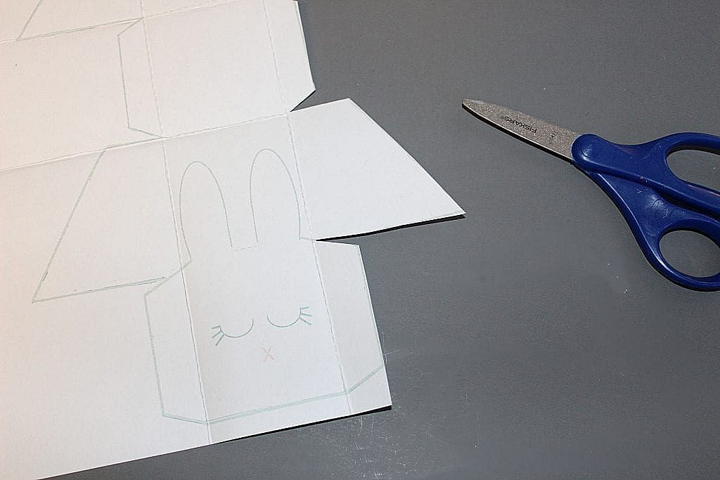 Easter Bunny Printable Free - Cut Template