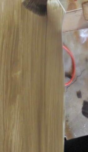 diy farmhouse table - apply glaze