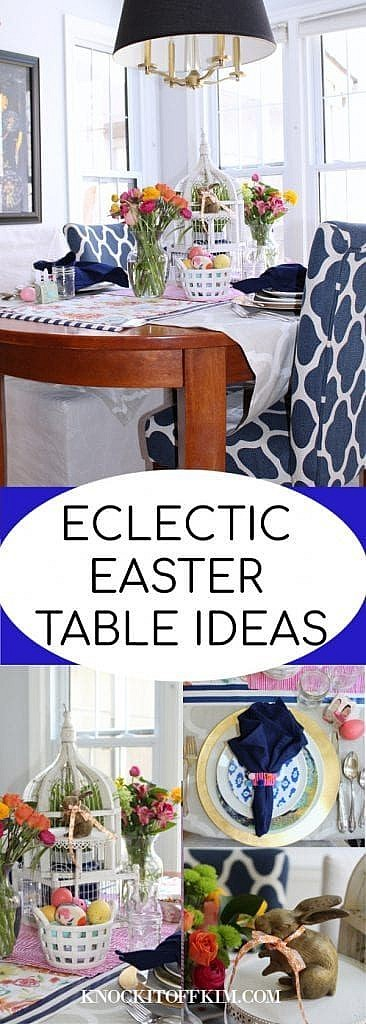 Eclectic Easter Table ideas